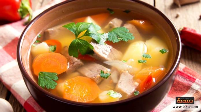 زين الشتاء طريقة عمل زين الشتاء المرقوق بقطع الدجاج