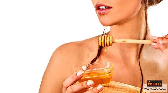 ماسكات العسل ماسك العسل للبشرة الجافة