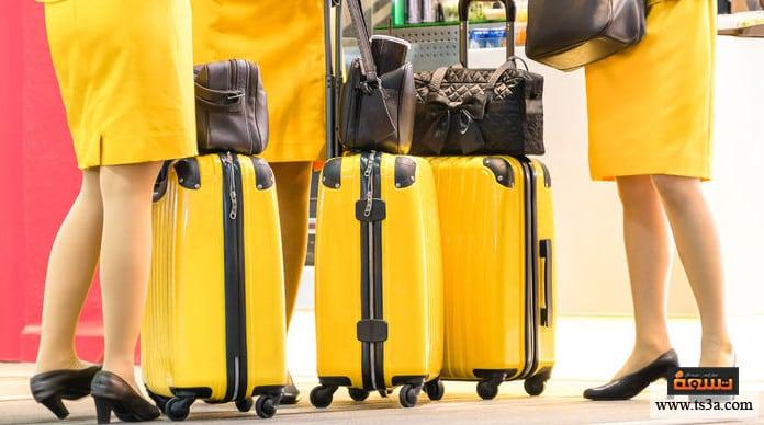 مضيفة الطيران كيف تصبحي مضيفة طيران؟