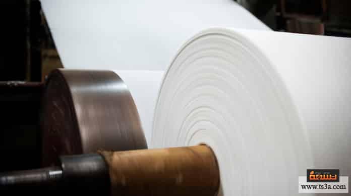 اختراع الورق صناعة الورق