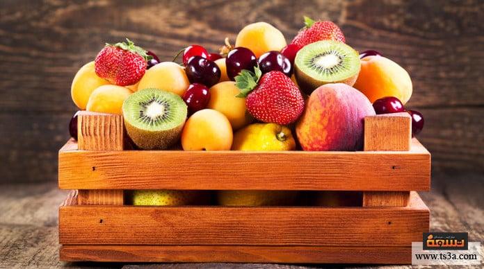 استخدام الخشب رفوف الفاكهة والخضراوات