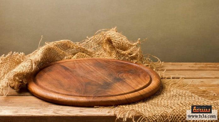 استخدام الخشب طاولة جانبية من جذع الخشب