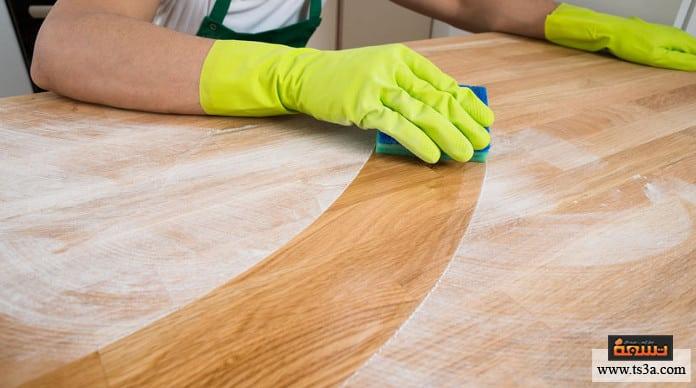 الدهون في المطابخ الخشبية وصفة لإزالة الدهون من المطبخ