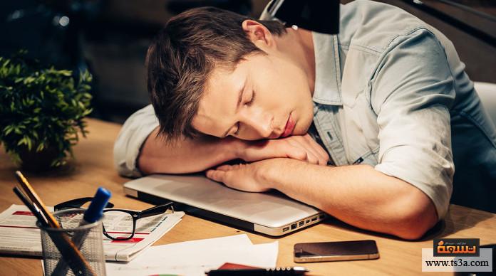 النوم خلال ساعات العمل طرق طبيعية للتخلص من مشكلة النوم خلال ساعات العمل
