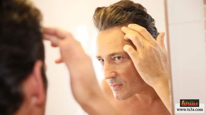 تساقط الشعر الدهني تساقط الشعر الدهني عند الرجال