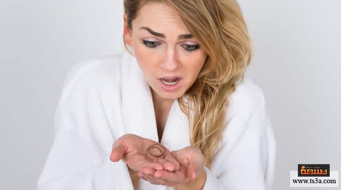 تساقط الشعر الدهني علاج تساقط الشعر الدهني للنساء