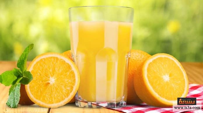 عصائر صالحة للتخزين مدة حفظ عصير البرتقال