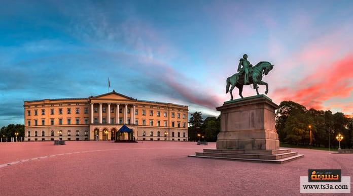 السياحة في النرويج القصر الملكي Royal Palace
