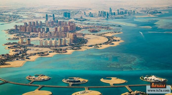 السياحة في قطر جزيرة لؤلؤة قطر The Pearl-Qatar