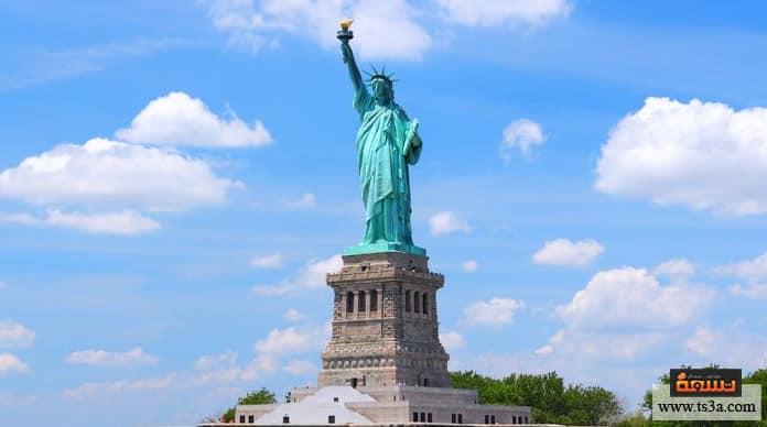 السياحة في نيويورك تمثال الحرية The Statue of Liberty