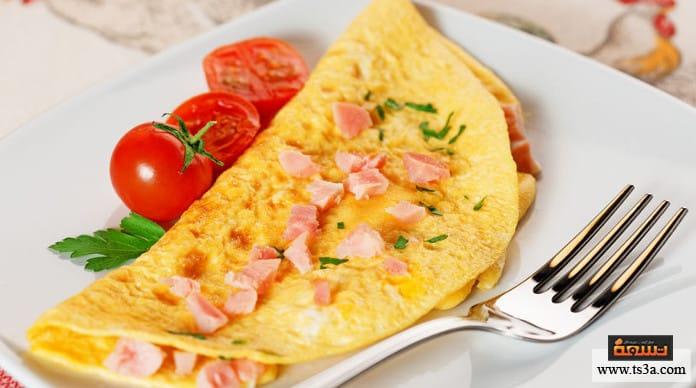 بيض الأومليت بيض الأومليت الفرنسي