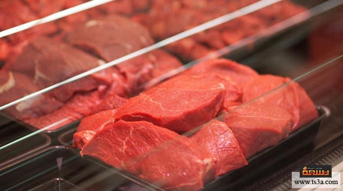 تخزين اللحوم تخزين اللحوم في الثلاجة
