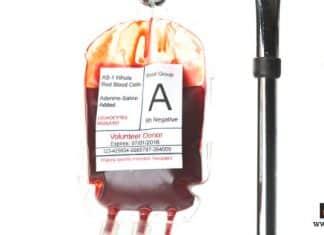 فصيلة الدم بدون تحليل