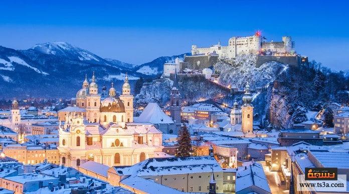 السياحة في النمسا أفضل الأماكن السياحية في سالزبورغ