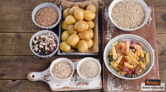 الكربوهيدرات الأطعمة الغنية بالكربوهيدرات