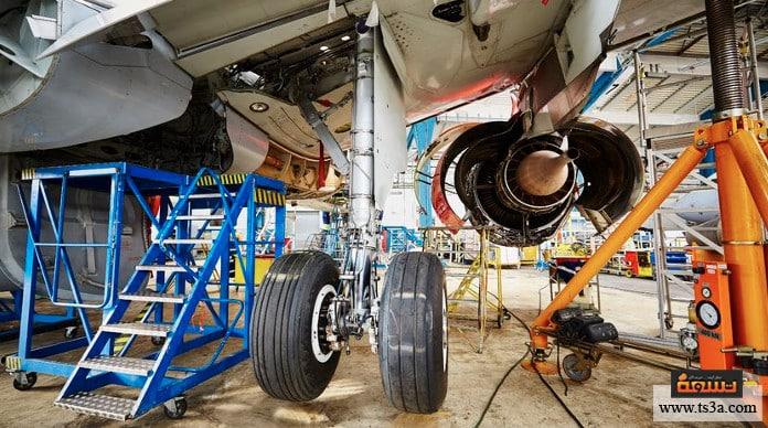 صناعة الطائرة