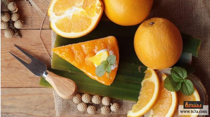 كيكة البرتقال الطريقة الثالثة