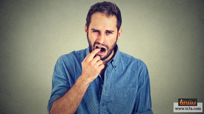 مرارة الفم مرارة الفم أثناء الصيام
