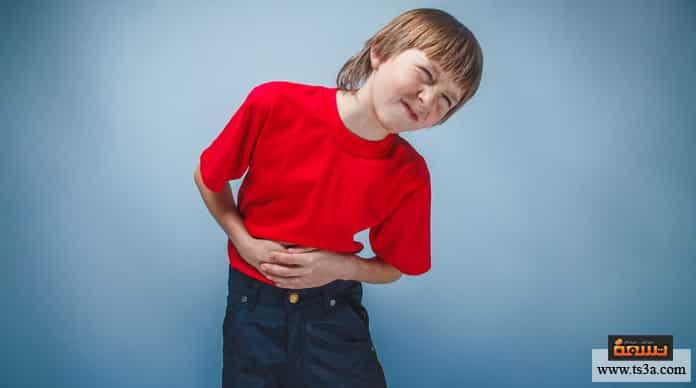 آلام البطن عند الأطفال