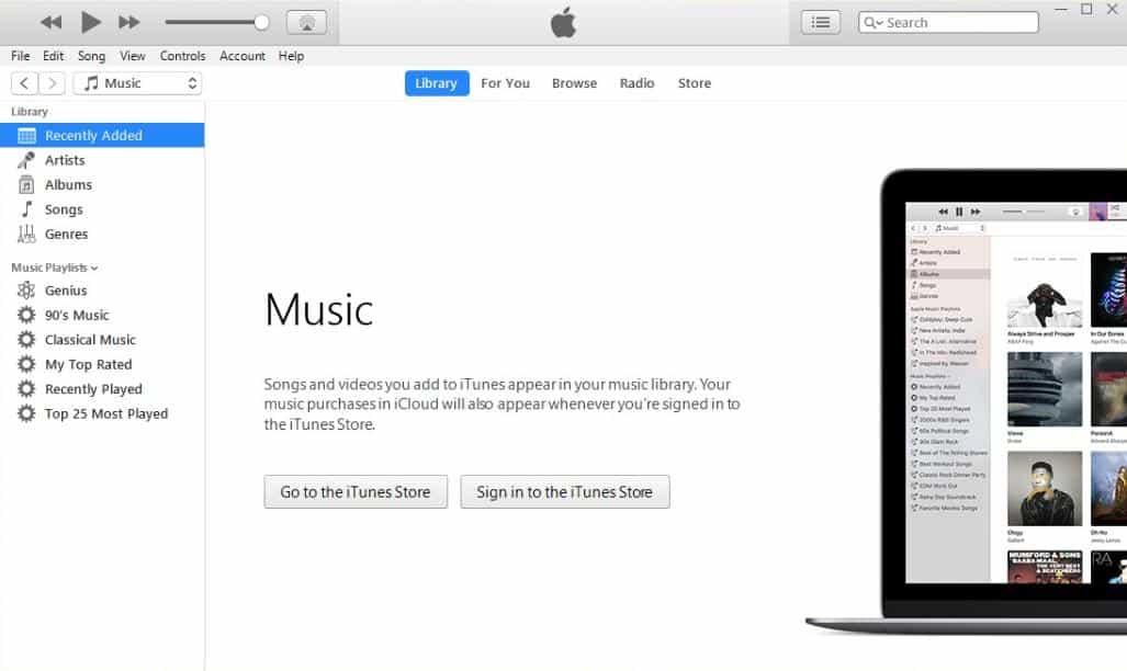 آي تيونز نبذة عن برنامج آي تيونز iTunes لهواتف الآيفون