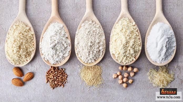 الجلوتين الجلوتين في القمح