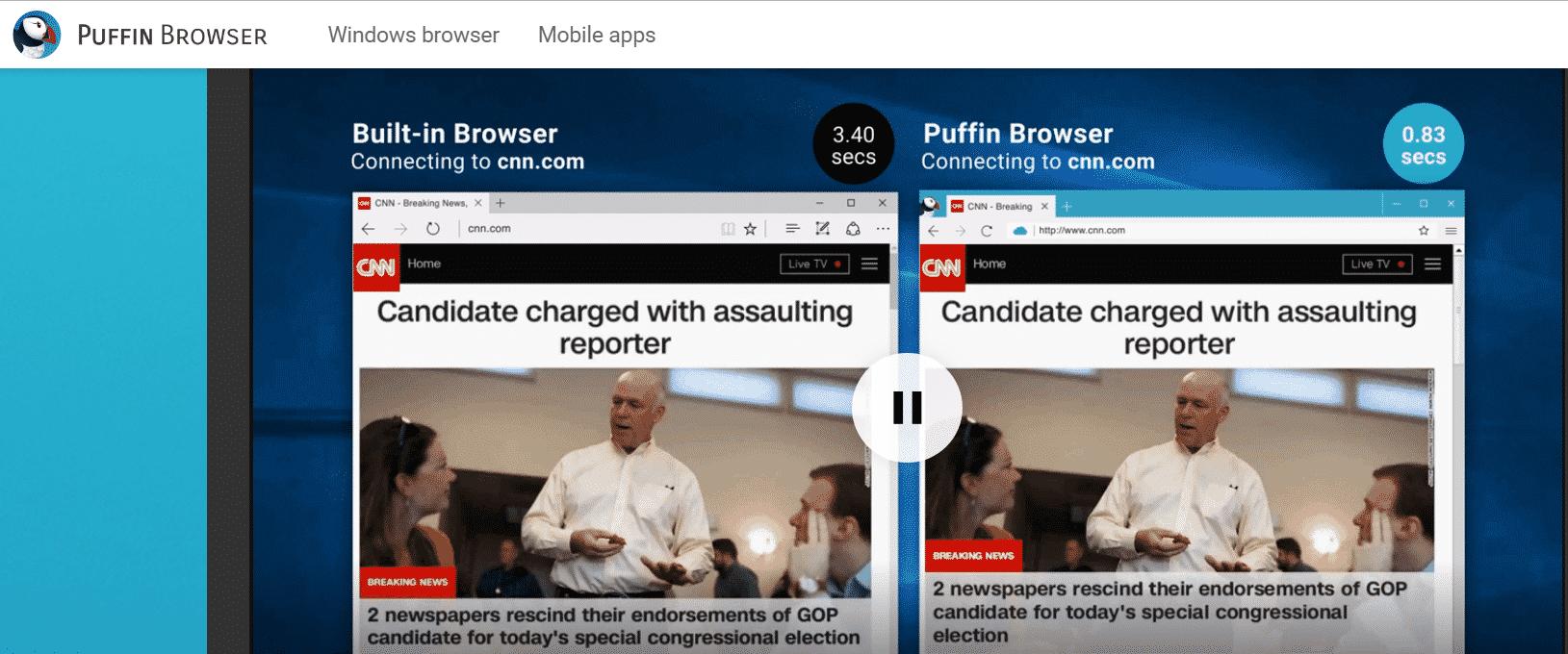 متصفح بوفين طريقة استخدام متصفح بوفين Puffin لمختلف الأجهزة 2