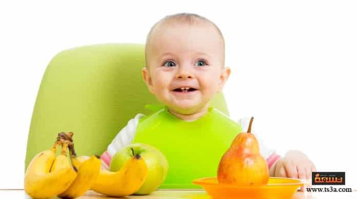 وجبات الرضع وجبات الرضع في الشهر السابع