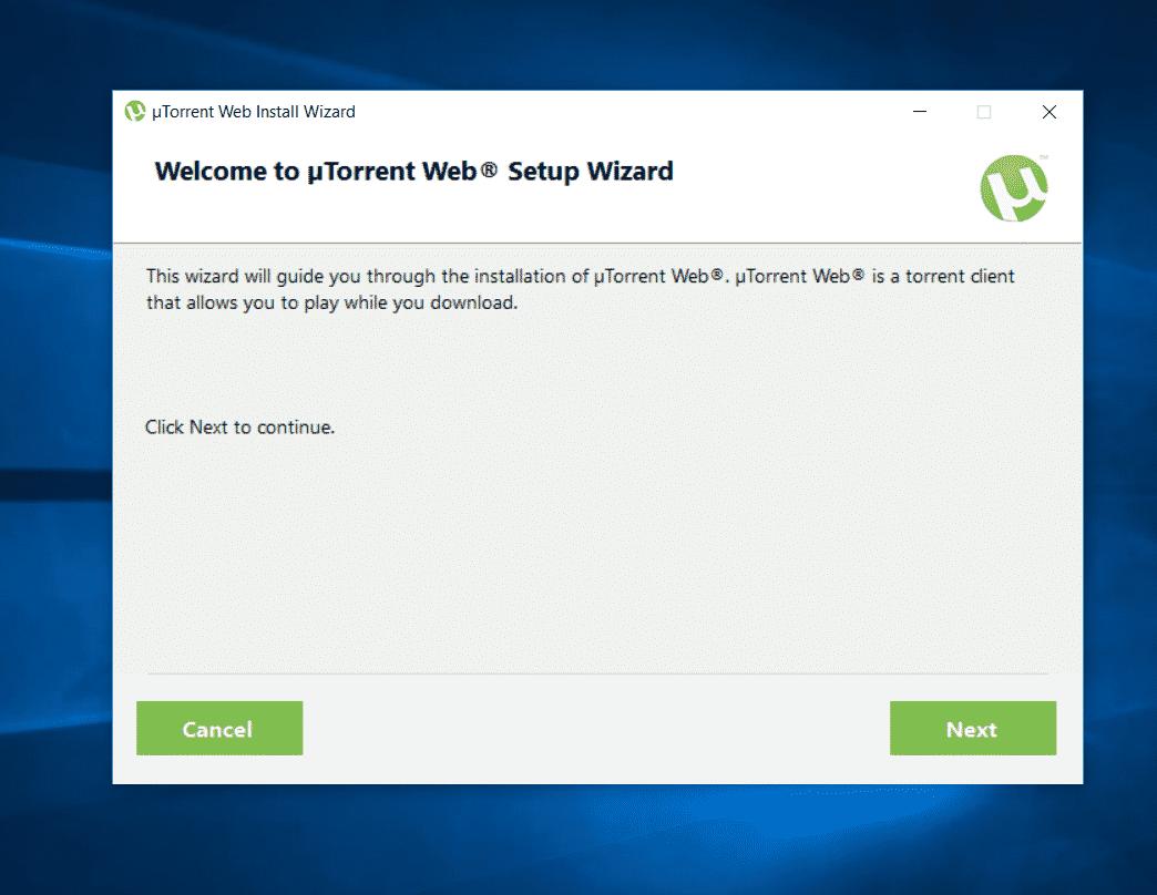 يوتورنت النُسخ المتوفرة من برنامج يوتورنت µTorrent