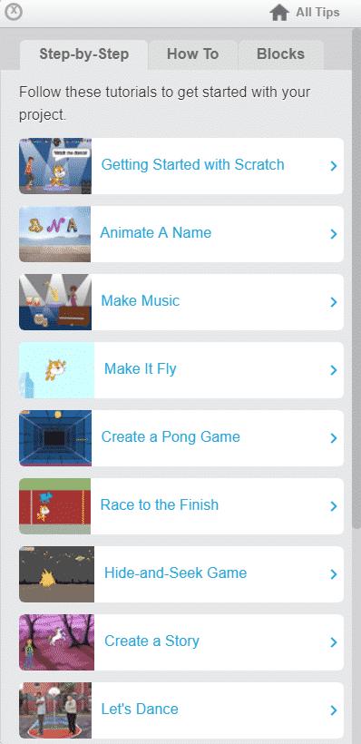 سكراتش مميزات برنامج سكراتش Scratch للبرمجة وصناعة الألعاب