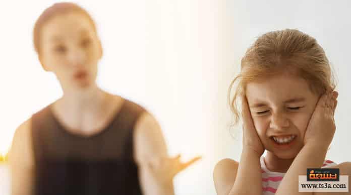 عصبية الأم عصبية الأم على الأطفال