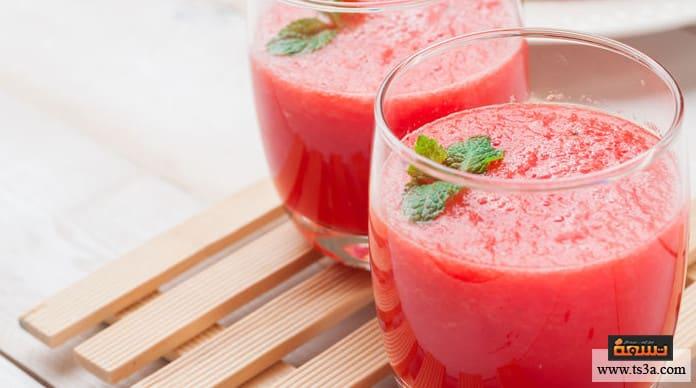 عصير البطيخ عصير البطيخ للحامل