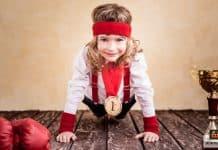 ممارسة الأطفال الرياضة