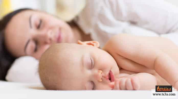 تعلق الرضيع حل مشكلة تعلق الرضيع الرضيع بأمه