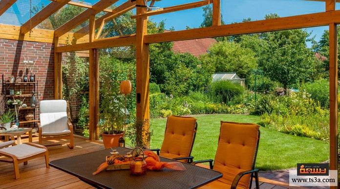 تنسيق الحديقة المنزلية كيف تتعامل مع الألوان عند تنسيق الحديقة؟