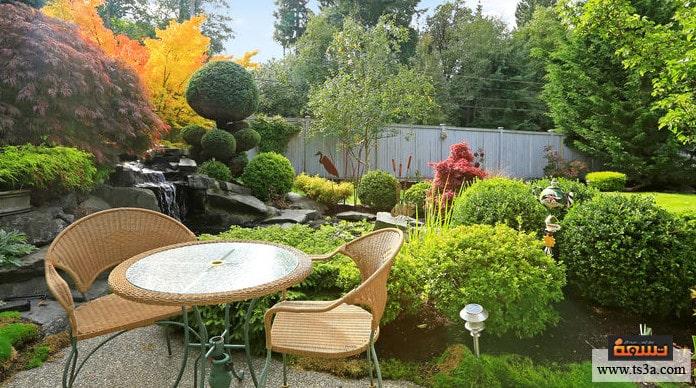 تنسيق الحديقة المنزلية كيف يتم تنسيق الحديقة المنزلية؟