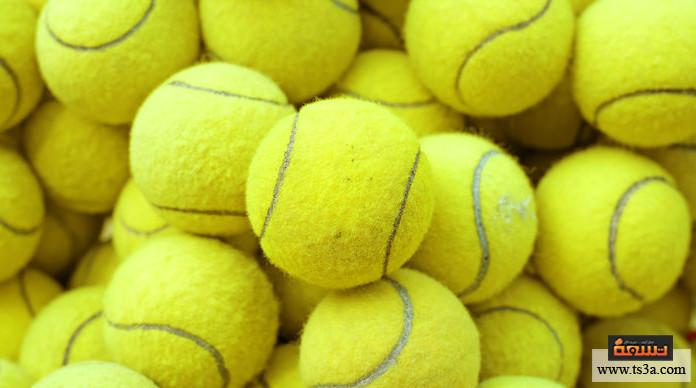 شد عضلة الكتف كرة تنس