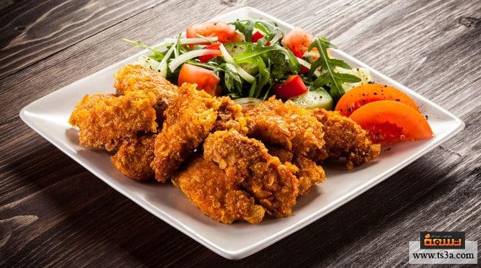 ناجتس الدجاج طريقة عمل ناجتس الدجاج بجوز الهند