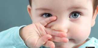 الخنفرة عند الرضع