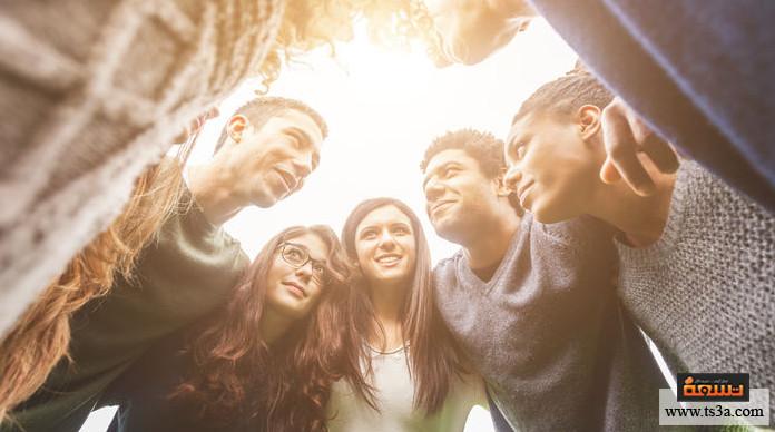 خدمة الناس ركز دائماً على الاهتمامات المشتركة بينك وبين الآخرين