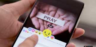 التعزية على فيسبوك