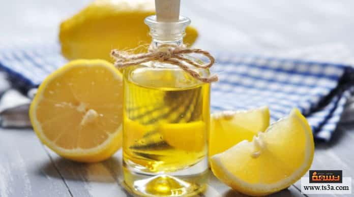 الزيوت العطرية زيت الليمون