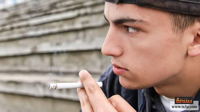 المراهق المدخن علامات المراهق المدخن