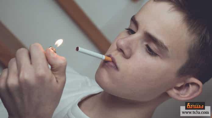 المراهق المدخن لماذا يجتذب التدخين المراهقين؟