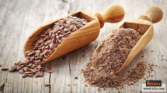 بذور الكتان للتخسيس القيمة الغذائية لبذور الكتان