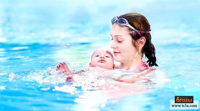تعليم الرضع السباحة أماكن تعليم الرضع السباحة