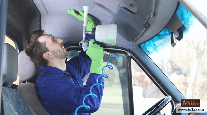 تنظيف سقف السيارة إرشادات هامة عند تنظيف سقف السيارة