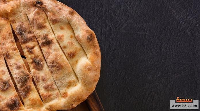 خبز مطلوع خبز مطلوع بالتمر