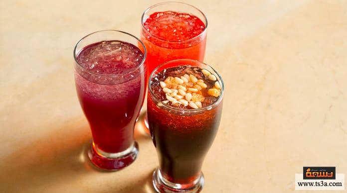شراب الجلاب طريقة عمل عصير الجلاب الجاهز