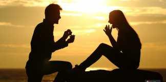 عرض الزواج في عيد الحب