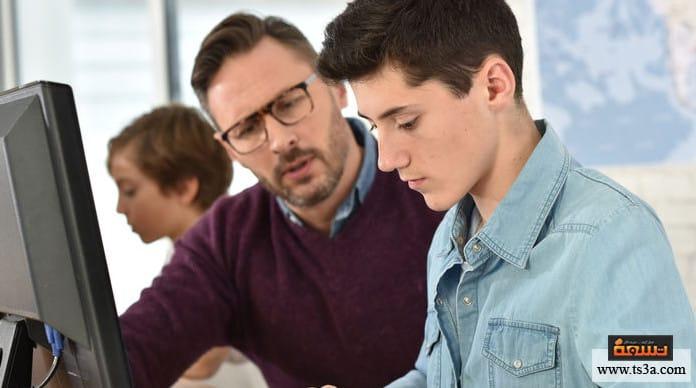 مدرس الابن كيف هي الصورة الواقعية؟